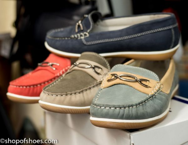 Brighton ultra soft suede loafer